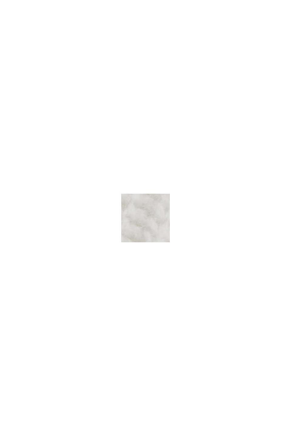 En laine/cachemire: débardeur à col droit, ICE, swatch
