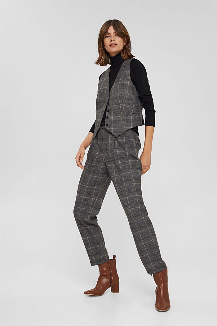 Basic Rollkragen-Pullover, LENZING™ ECOVERO™, BLACK, detail image number 1