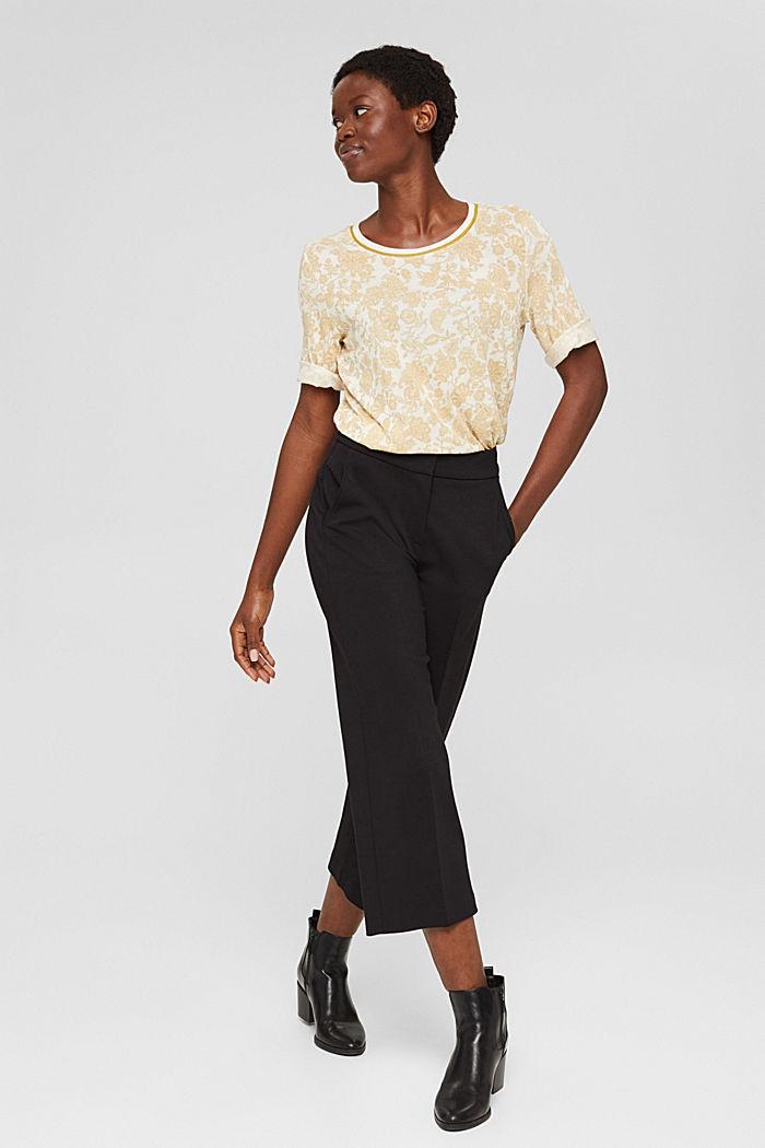 T-shirt à imprimé à fleurs, LENZING™ ECOVERO™, ICE, detail image number 1