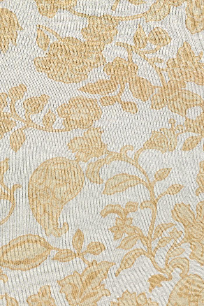 T-shirt à imprimé à fleurs, LENZING™ ECOVERO™, ICE, detail image number 4