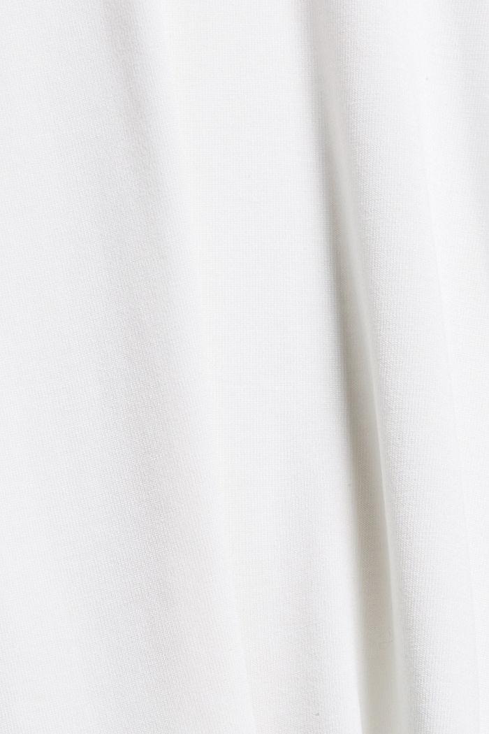 T-shirt à manches longues en TENCEL™ x REFIBRA™, WHITE, detail image number 4
