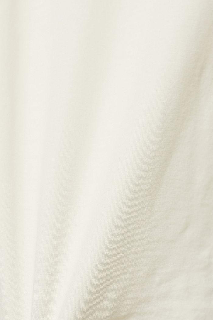 Van TENCEL™/stretch: longsleeve met col, ICE, detail image number 4