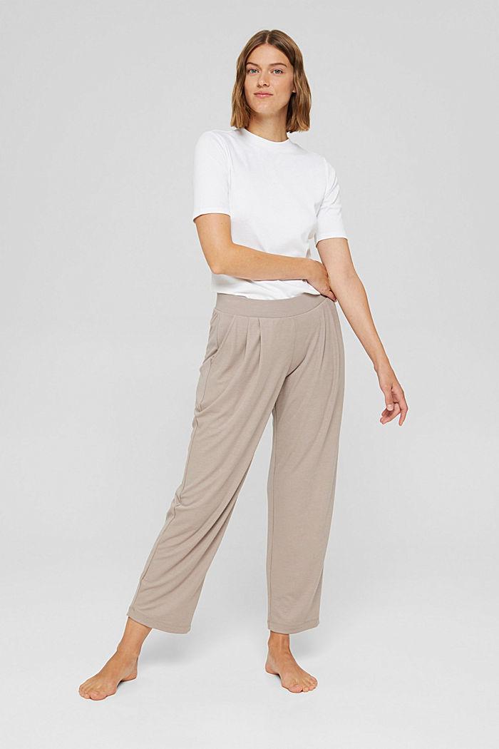 Misto TENCEL™: pantaloni da pigiama cropped