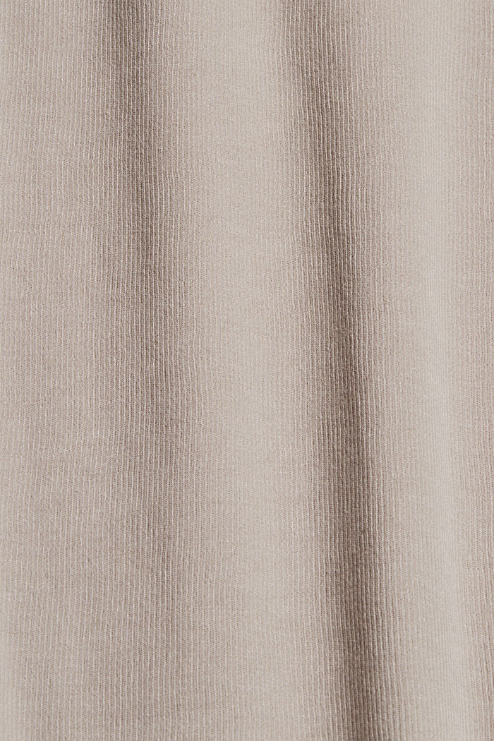 TENCEL™-Mix: cropped Pyjama-Hose, LIGHT TAUPE, detail image number 4