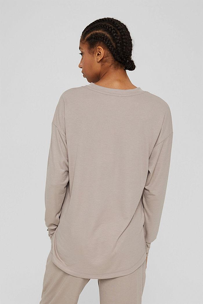 Sweatshirts, LIGHT TAUPE, detail image number 3