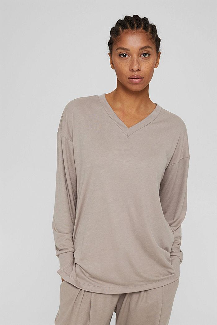 Sweatshirts, LIGHT TAUPE, detail image number 5