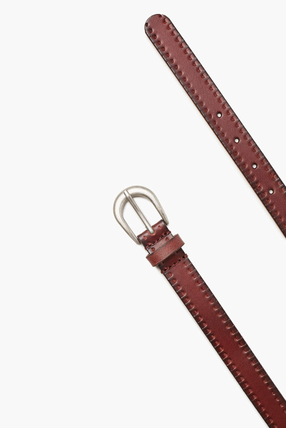 edc - Textured leather belt