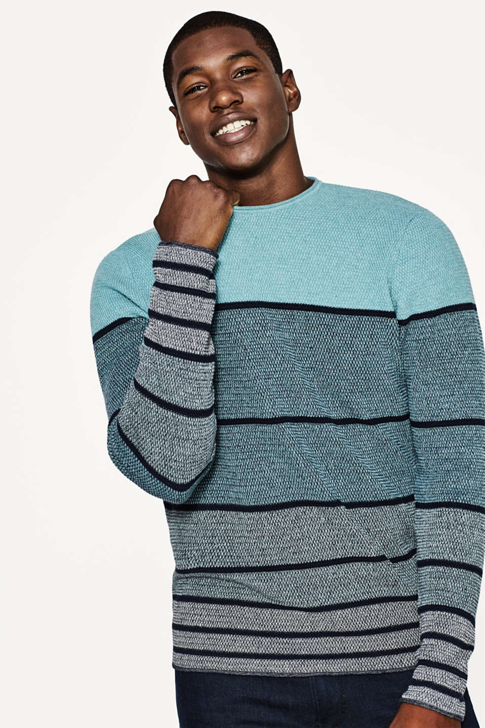 edc - Striped jumper in cotton