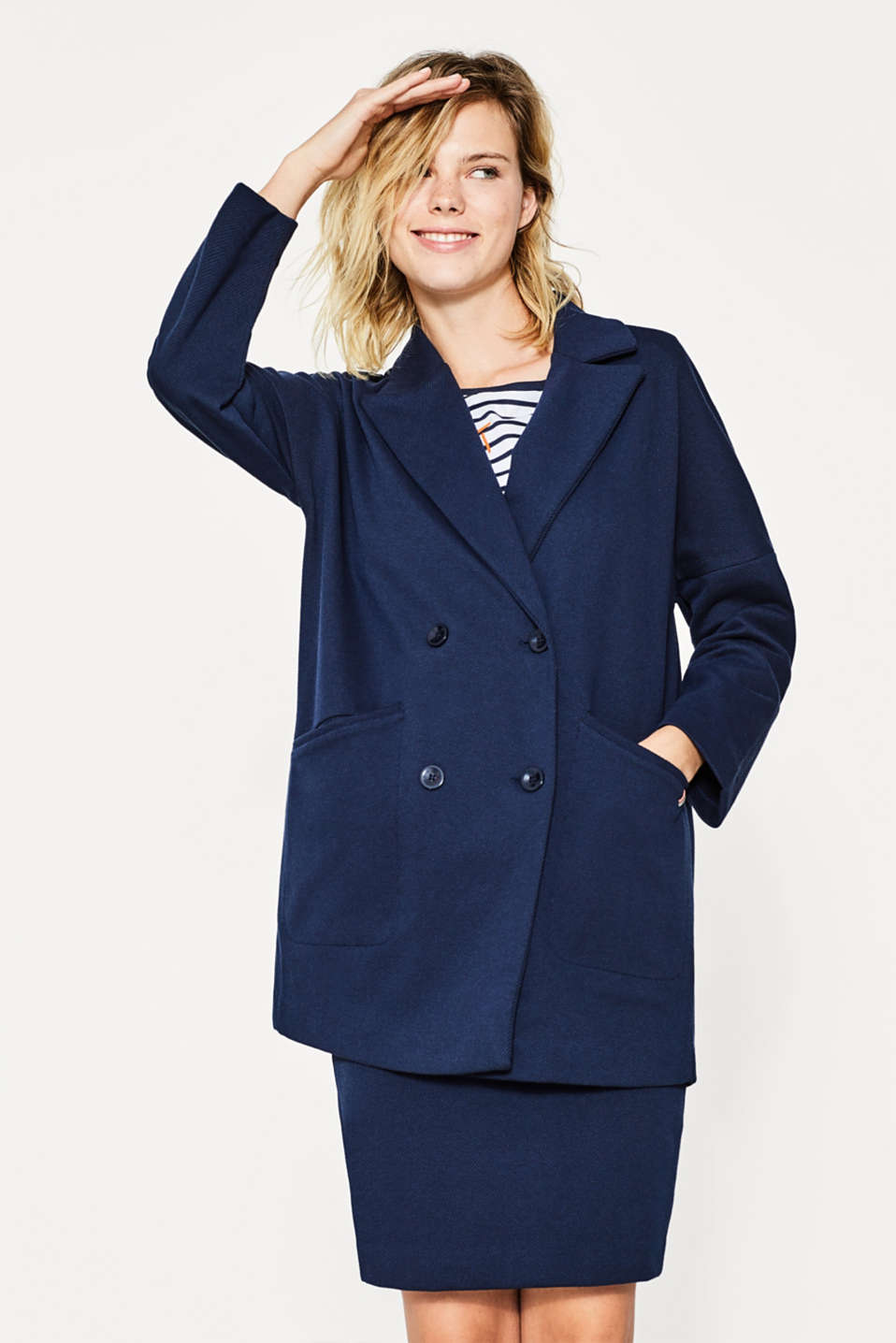 Esprit - GOOD COLLECTION jersey coat
