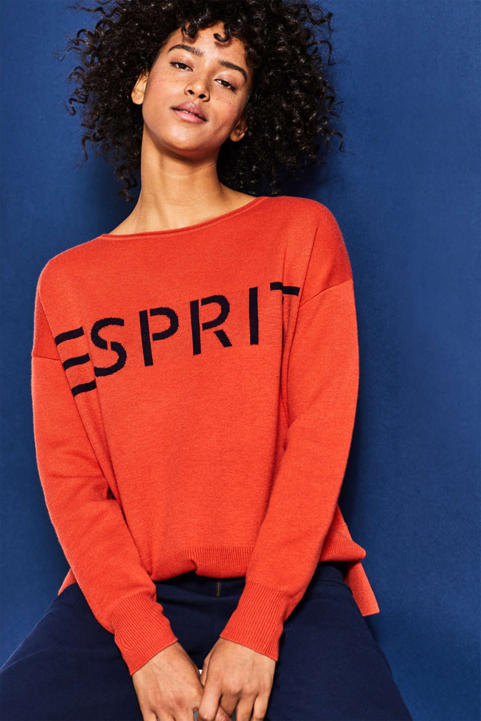 Esprit - GOOD COLLECTION Colourblock-sweater