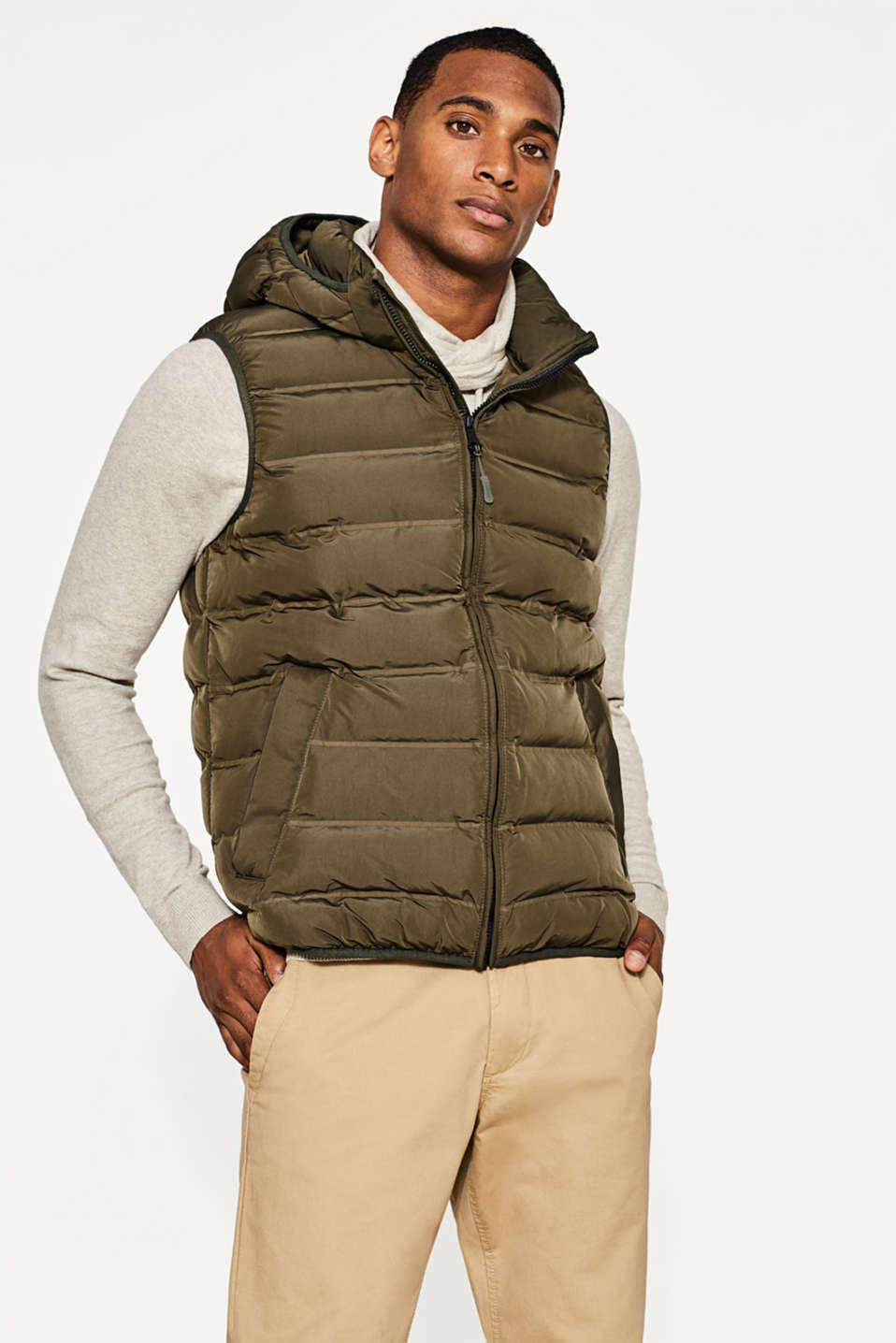 Esprit - Light body warmer with PrimaLoft filling