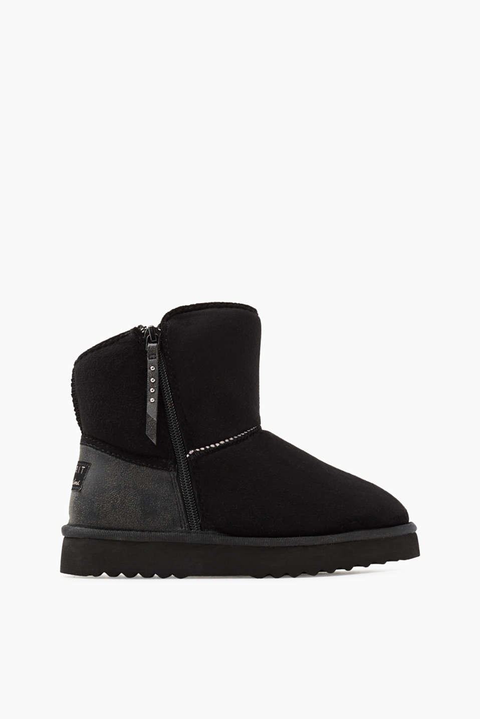 Esprit - Winter boots with soft faux fur lining