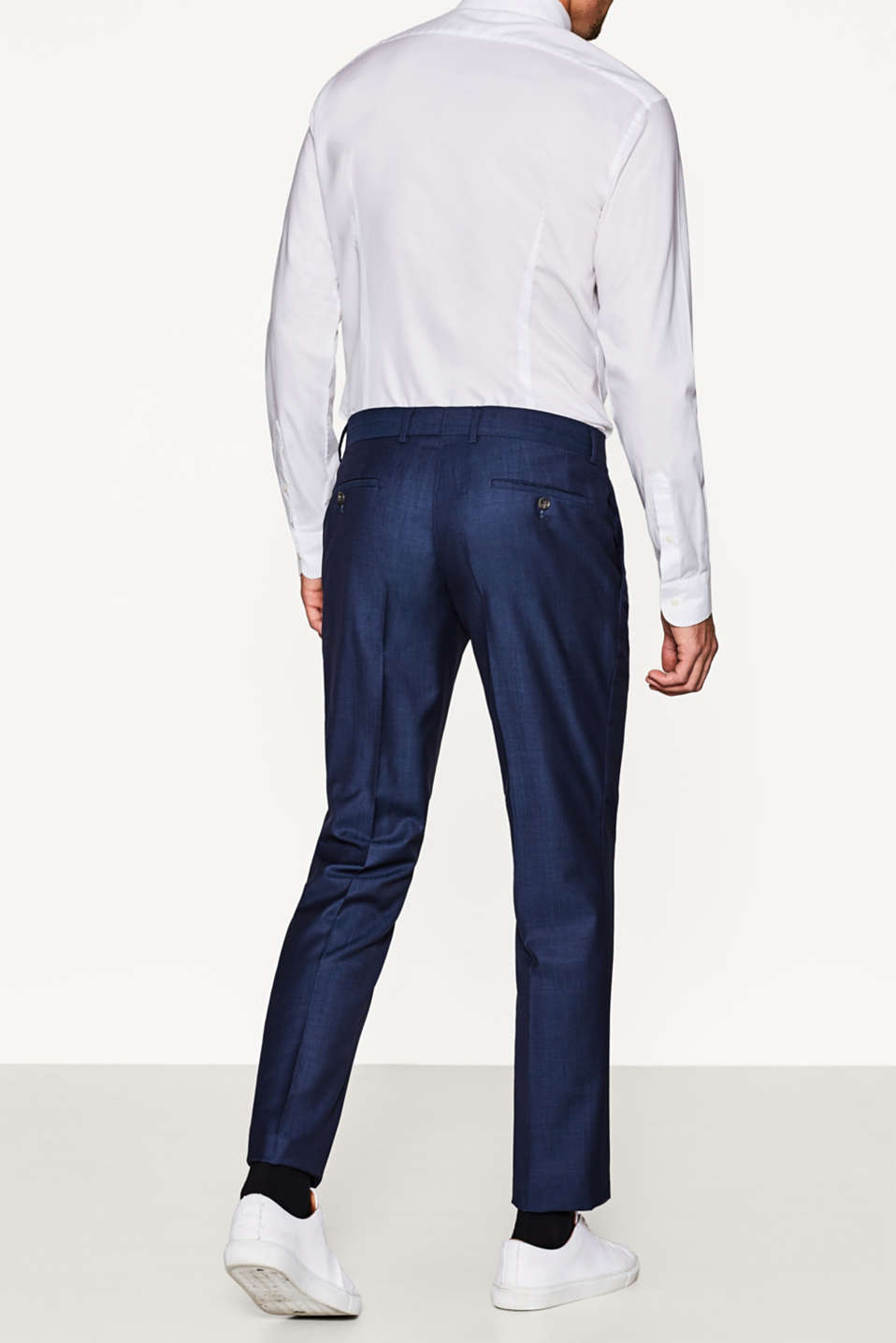 ACTIVE SUIT Pantalon de costume, laine