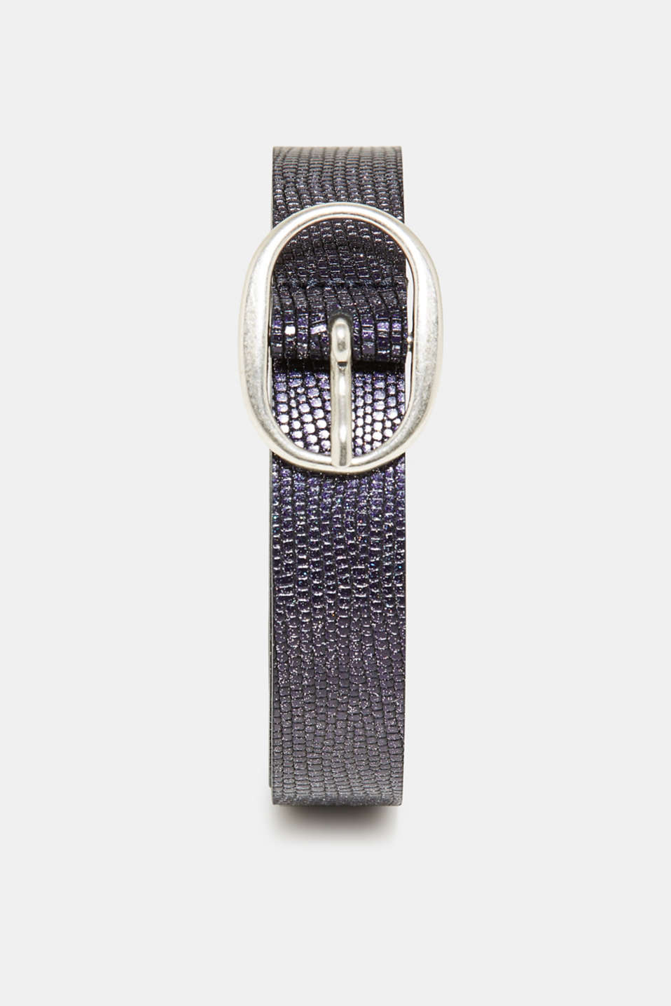 edc - Narrow belt with a glitter effect