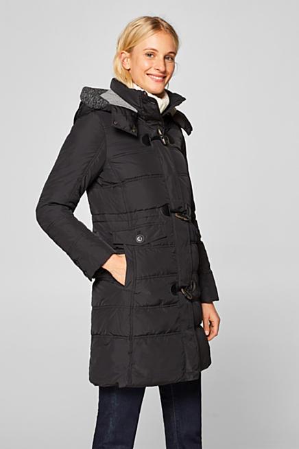 Cappotto trapuntato con cappuccio regolabile 823853b8a3d5