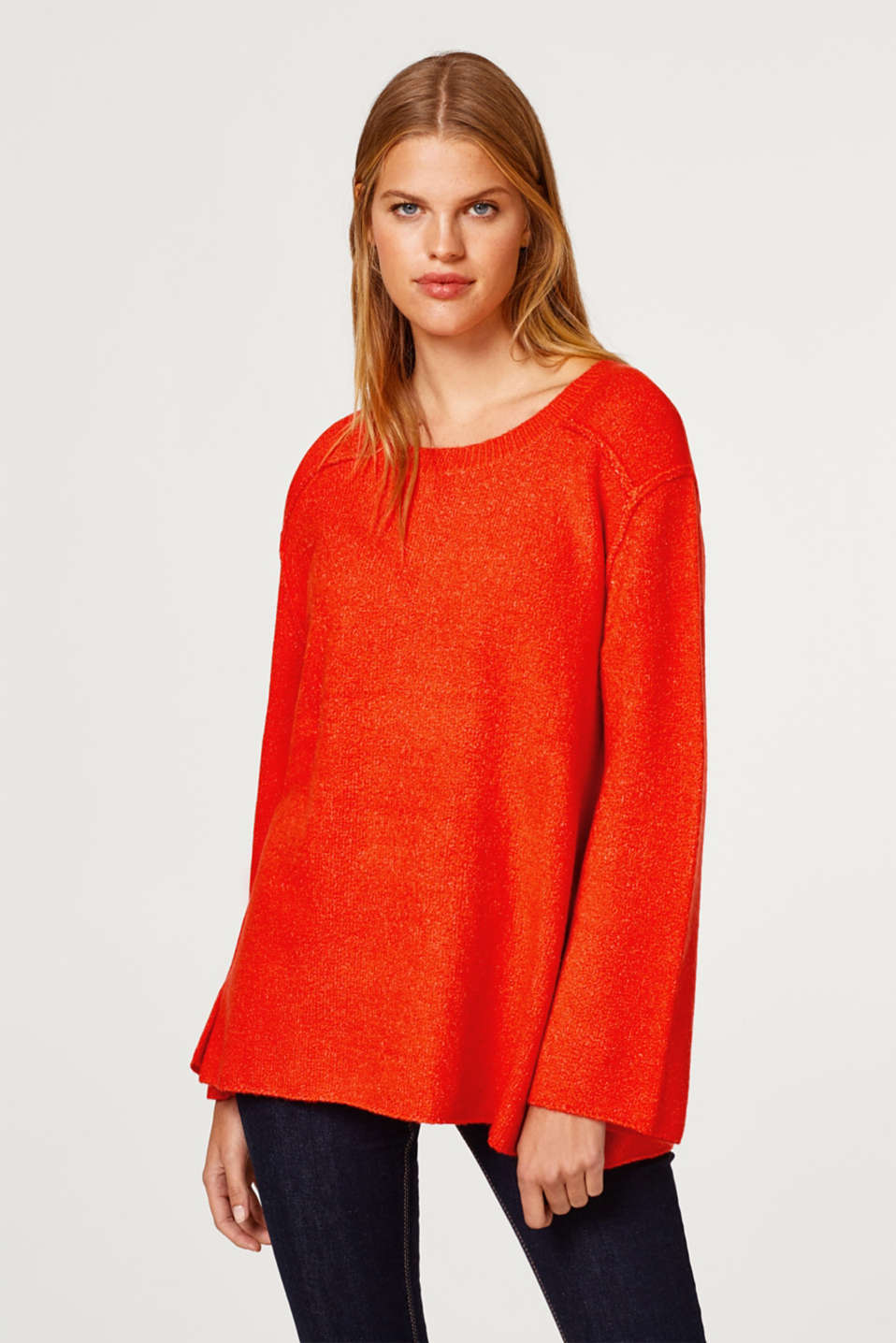 edc - Flared oversized jumper