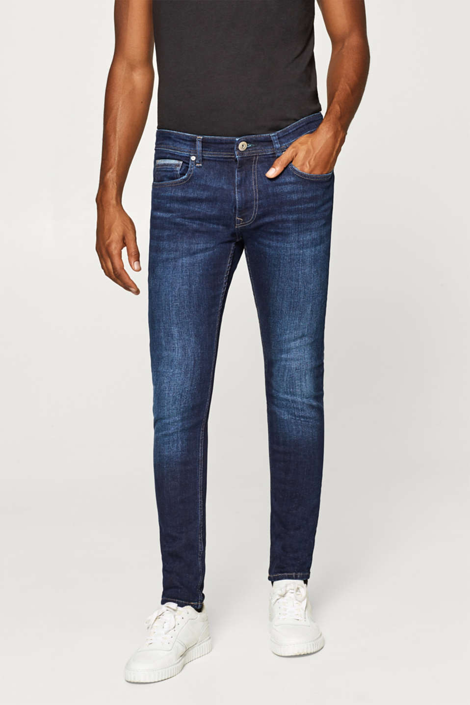 edc - Stretch jeans in a light wash