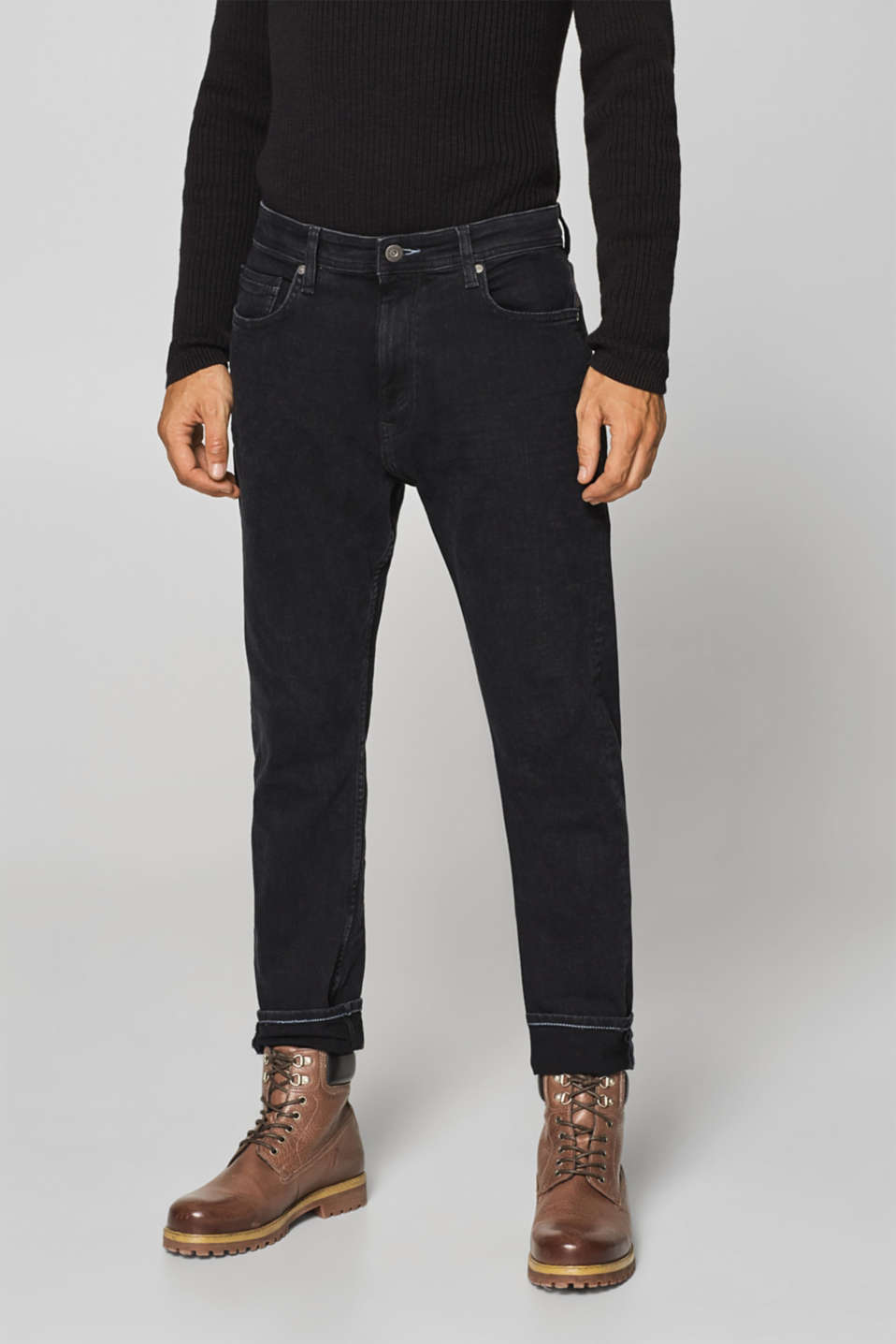 edc - Stretch jeans with washed-out effects