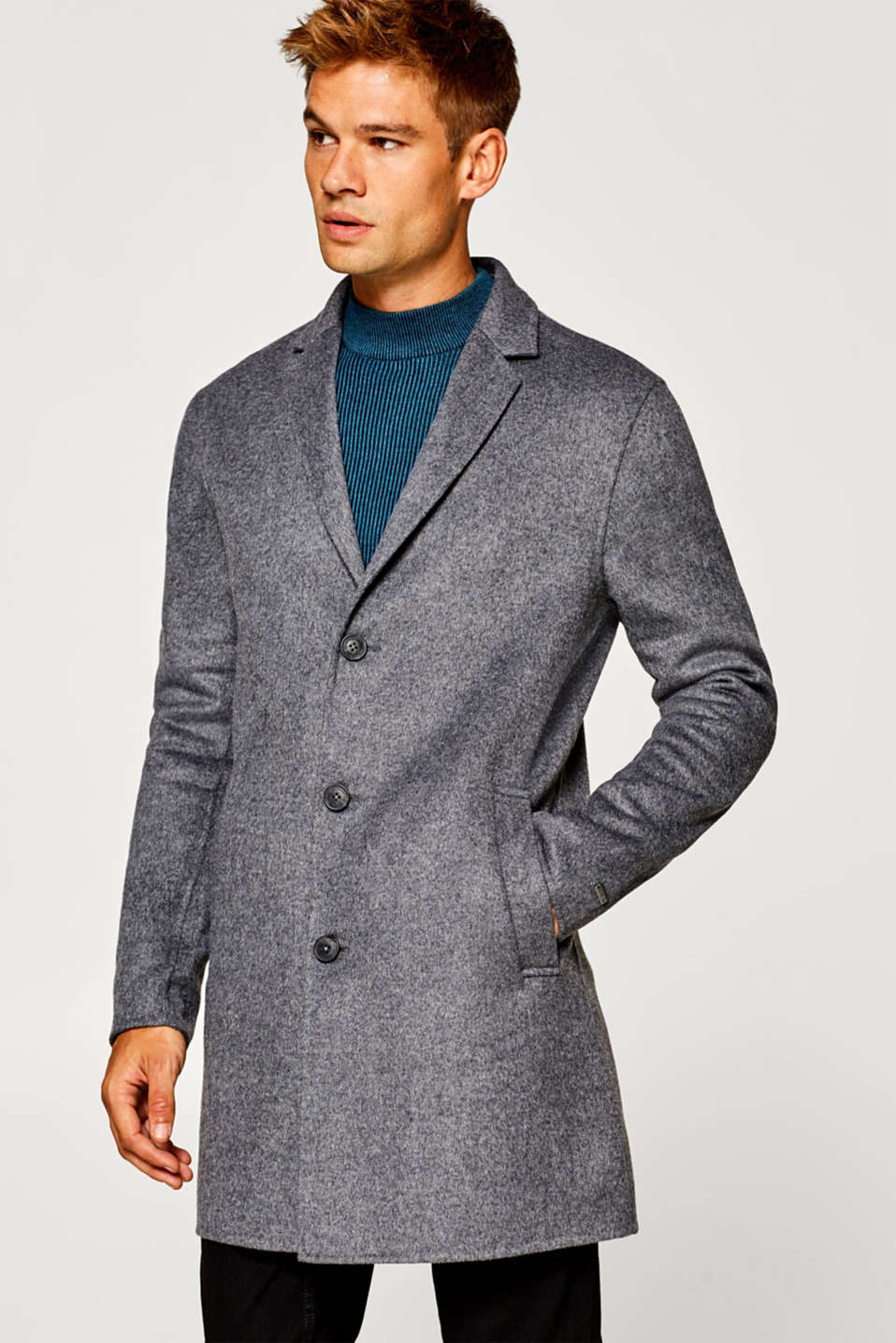 edc - Coat made of blended wool