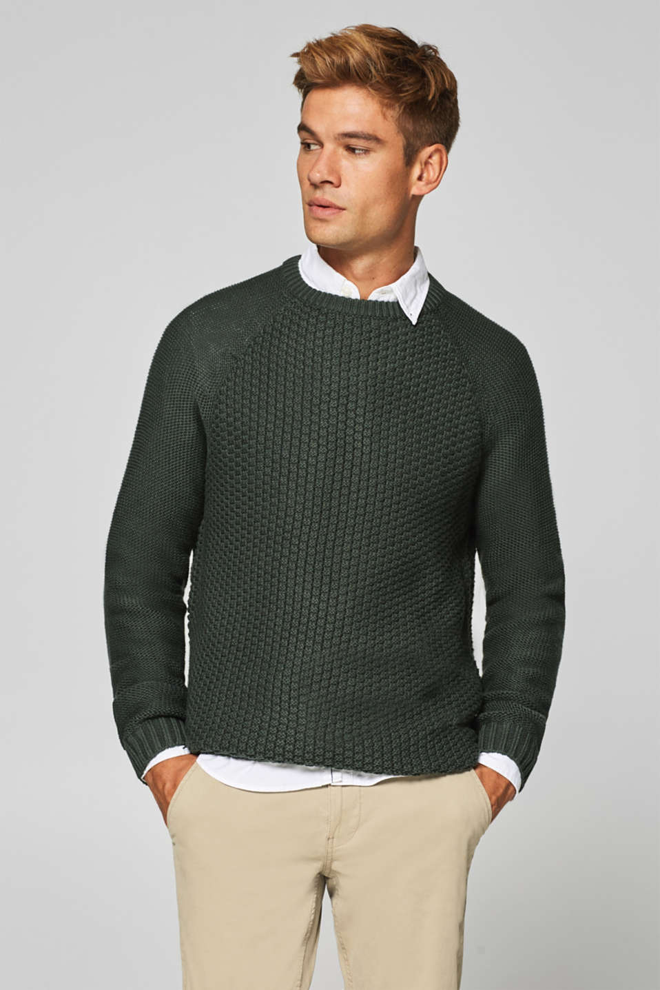 edc - Textured knit jumper