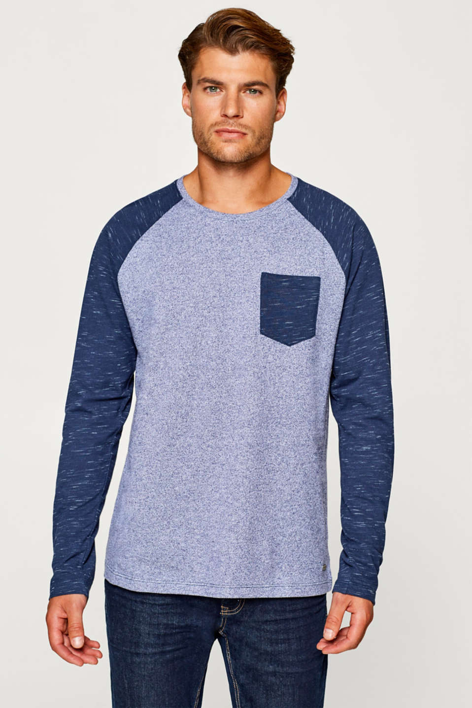 edc - Long sleeve top with raglan sleeves
