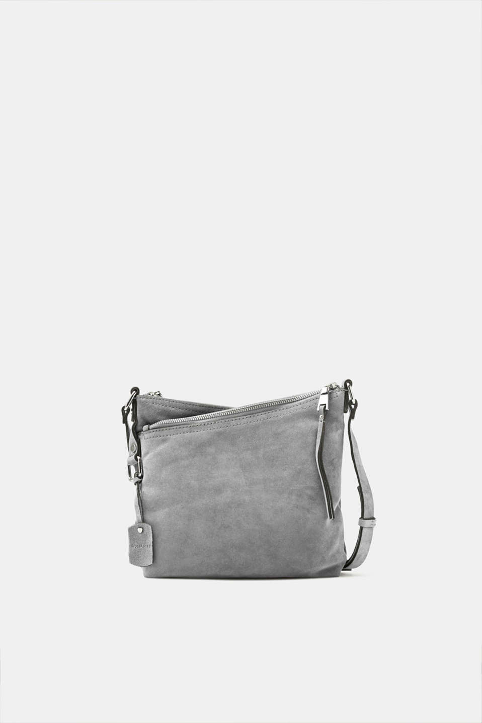 Esprit - Small suede shoulder bag