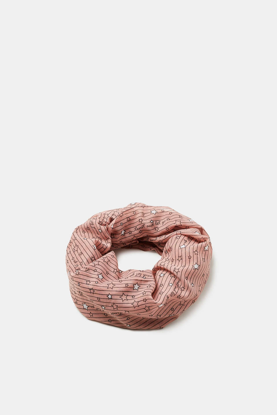 Esprit - Snood with a star print