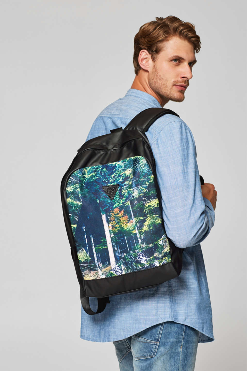 Rucksack with photo print