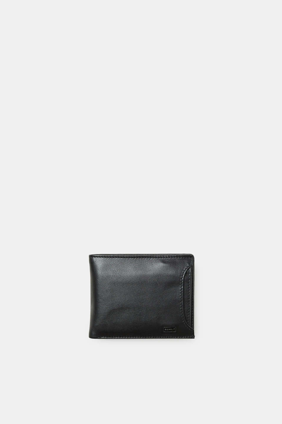 Esprit - Leather purse with an integrated cardholder