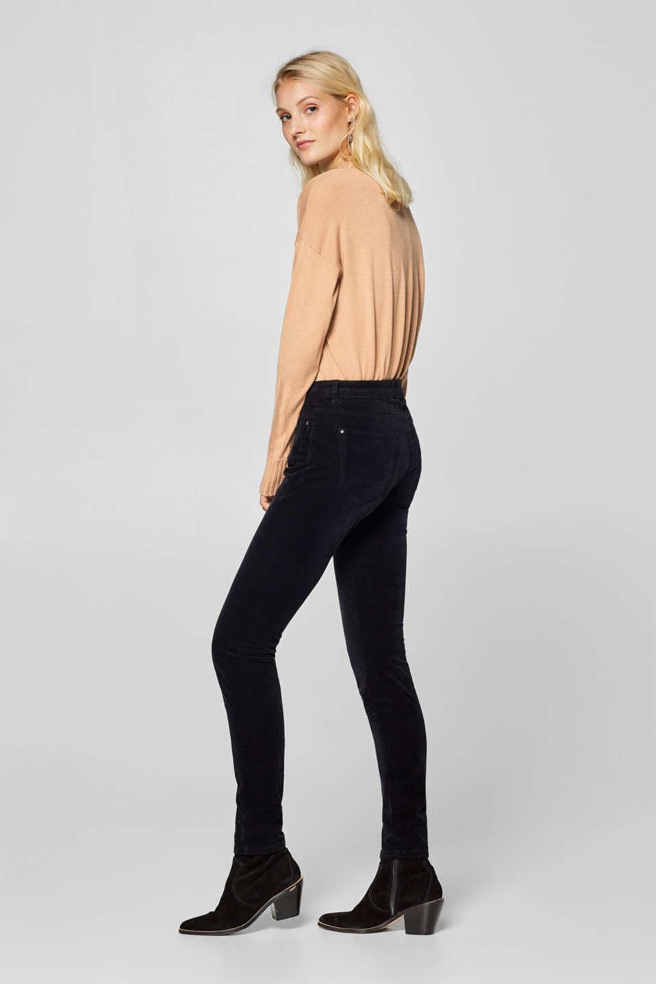 Esprit : Pantalón de pana fina con componente elástico en la Online-Shop