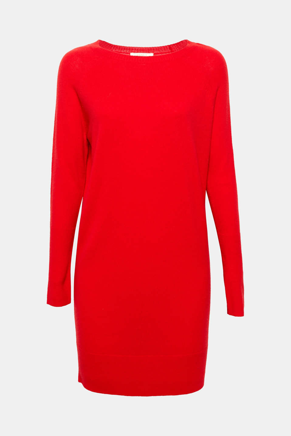 This straight cut, fine knit dress is casual, timeless and elegant in a high-quality, soft blend of wool and cashmere!
