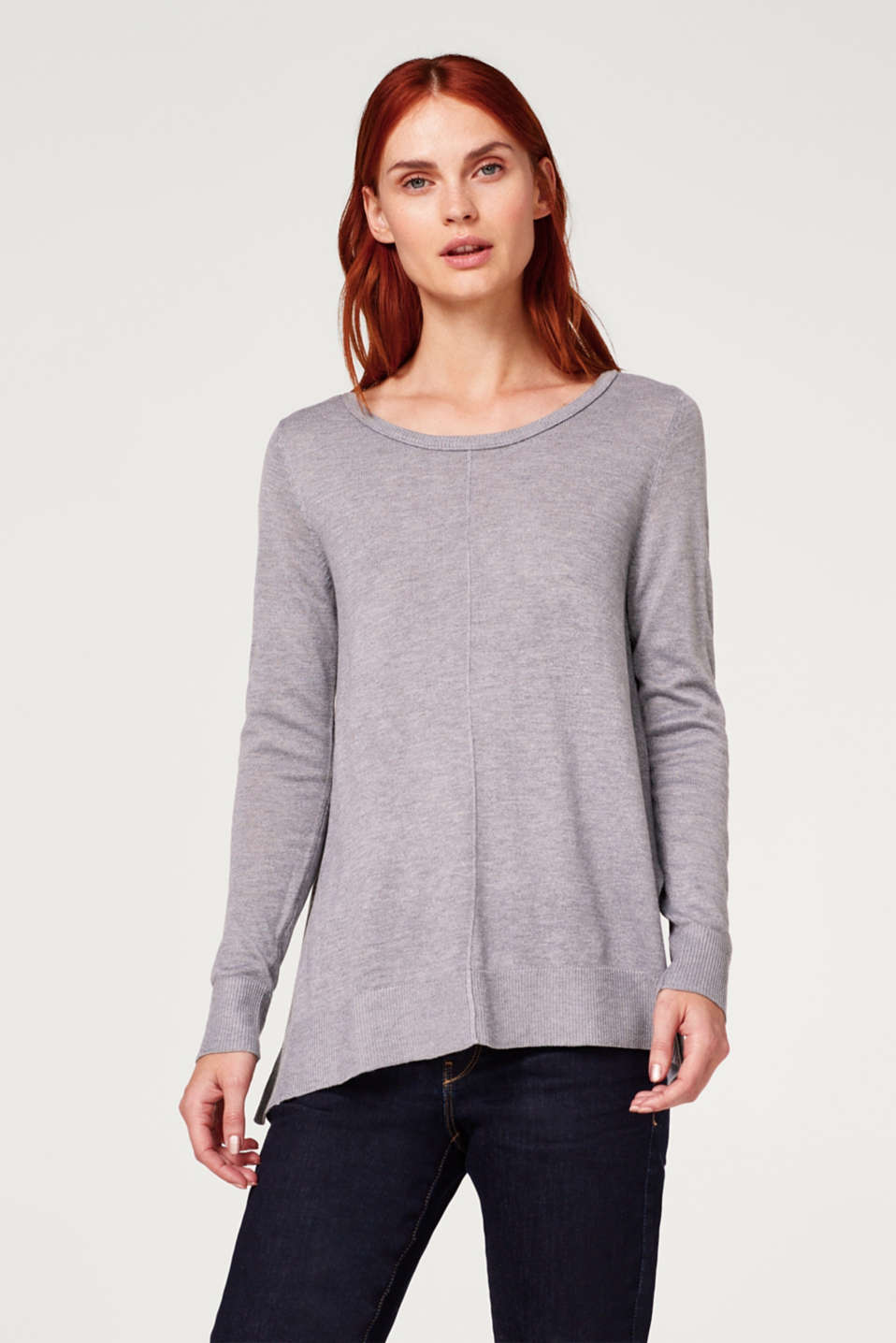 Esprit - Oversize-Sweater in A-Linie