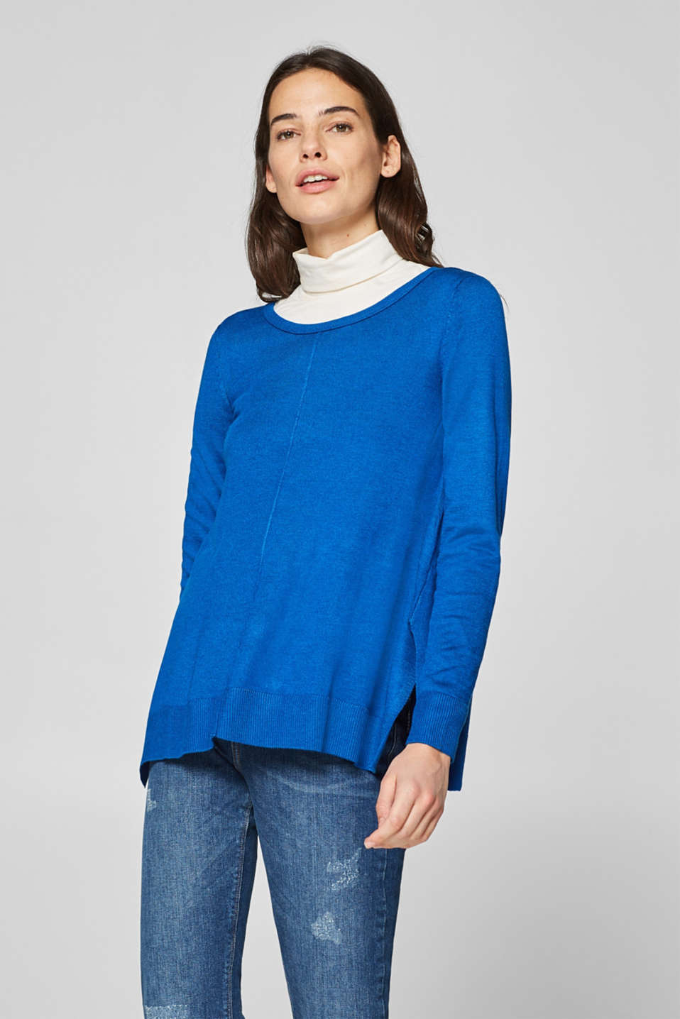 Esprit - Oversized, A-line sweater