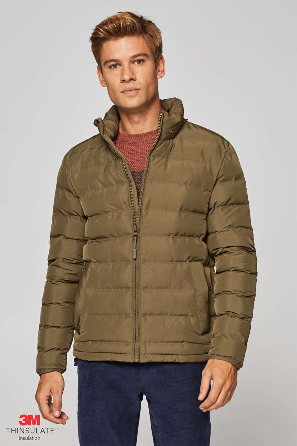 Esprit   Cazadora acolchada con capucha y relleno 3M® Thinsulate® en ... e644ae3050a8
