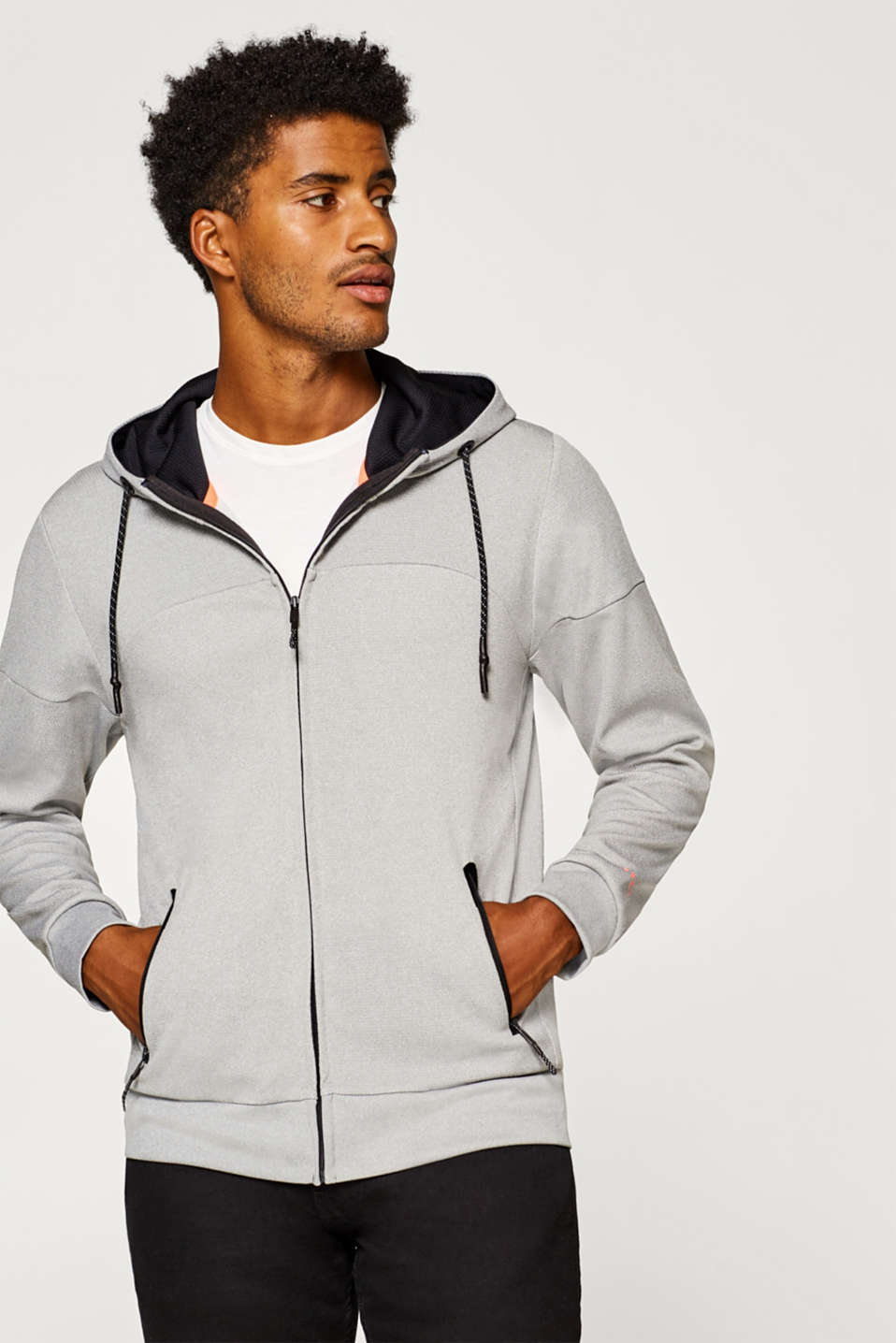 Esprit - Sweat à capuche Active
