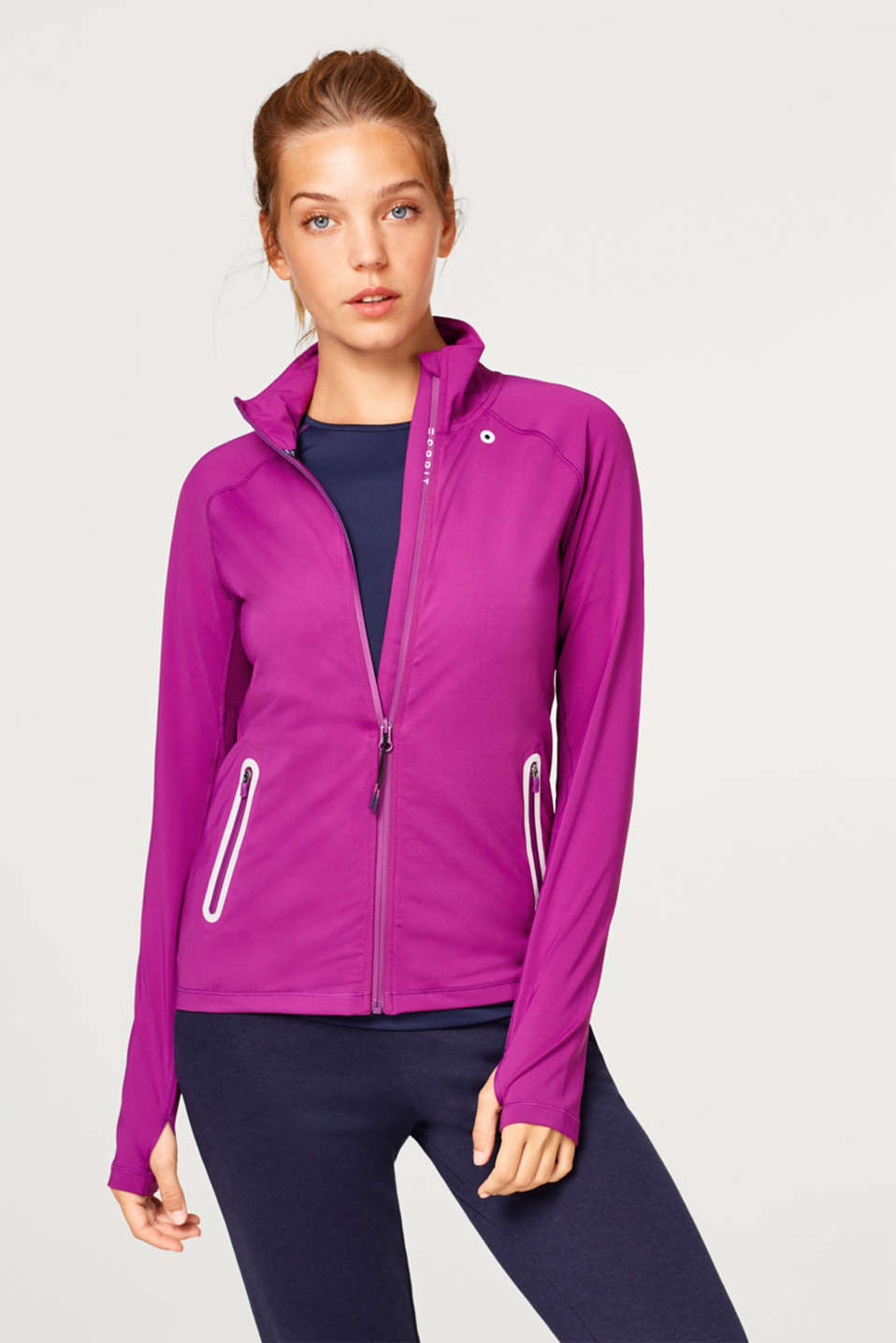 Esprit - Reflective jersey jacket, with E-DRY technology