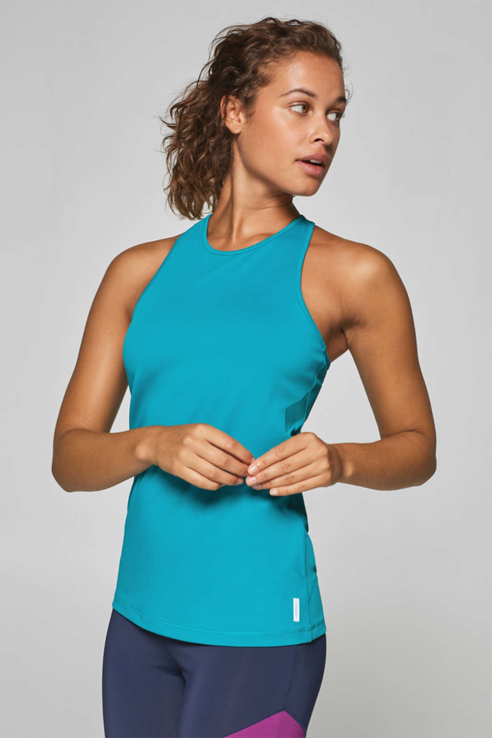 Esprit - Vest top with racer back and E-DRY