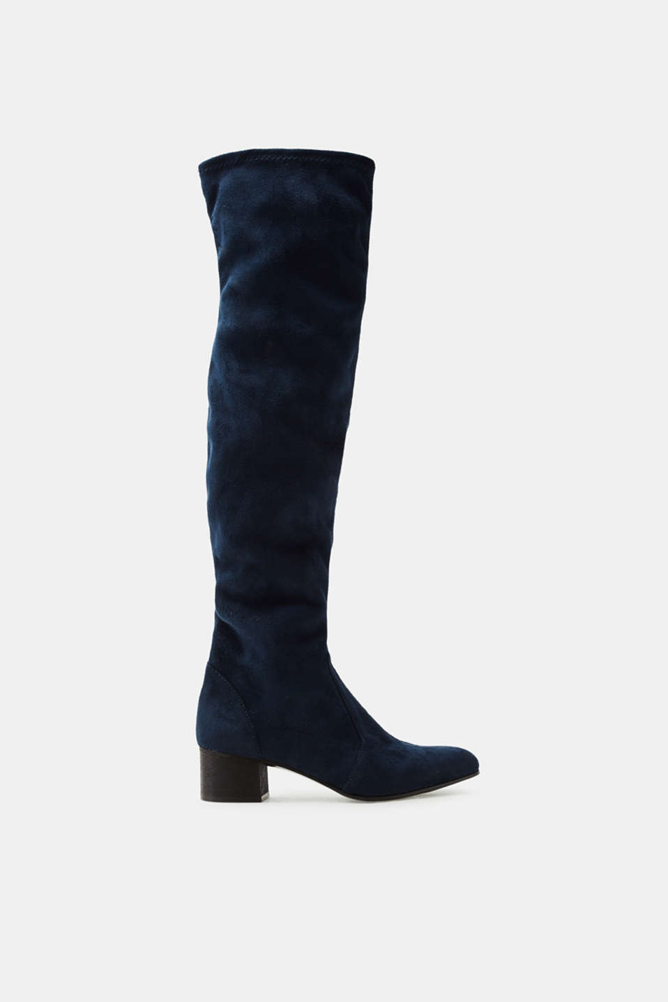 Esprit - Over-the-knee boots with stretchy legs