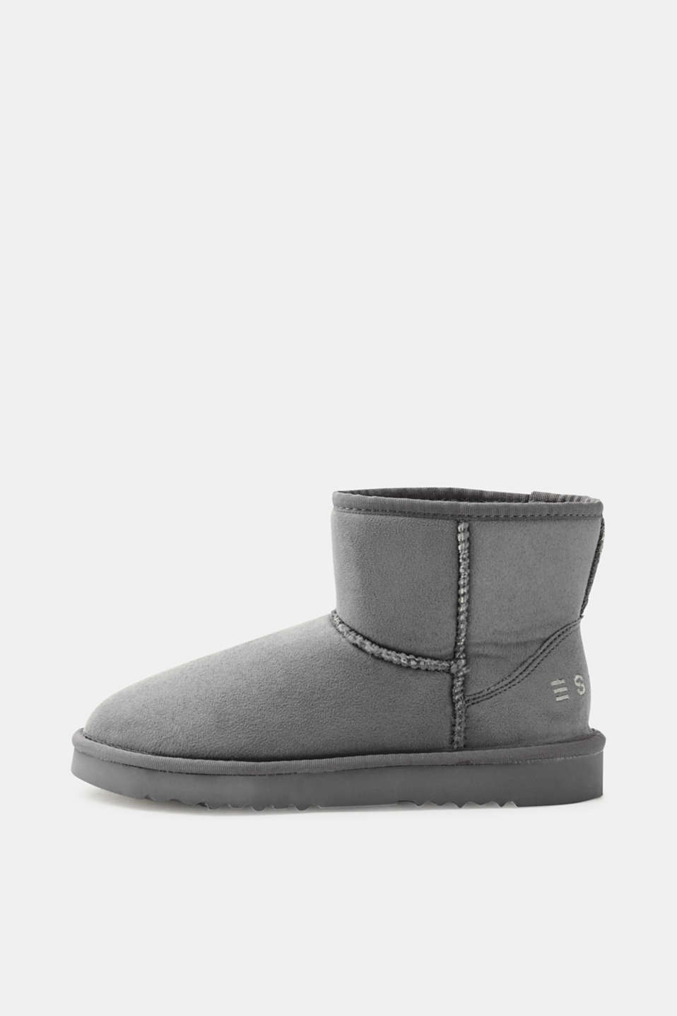 Esprit - Winter ankle boot with faux fur lining