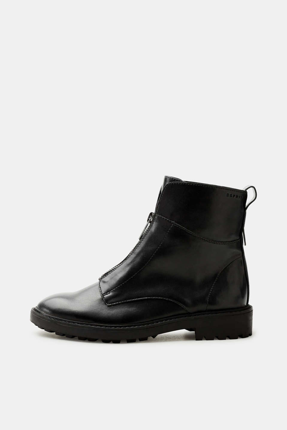 Esprit - Vegan boots with front zips