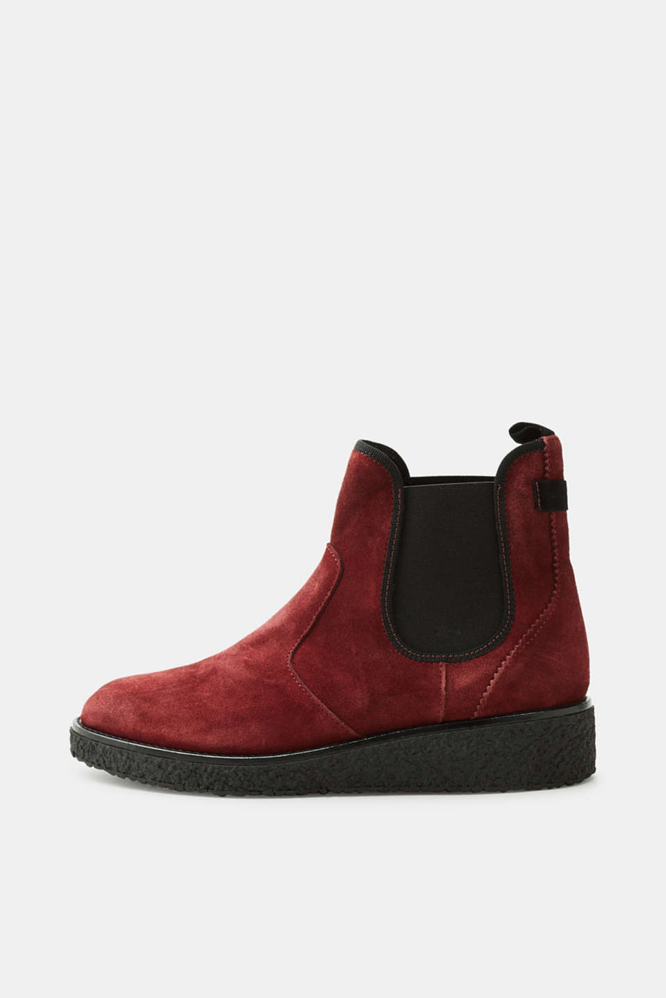 Esprit - Chelsea boots with wedge sole