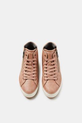 92ecd6c3d7f5 Esprit   Sneakers montantes vegan en similicuir à acheter sur la ...