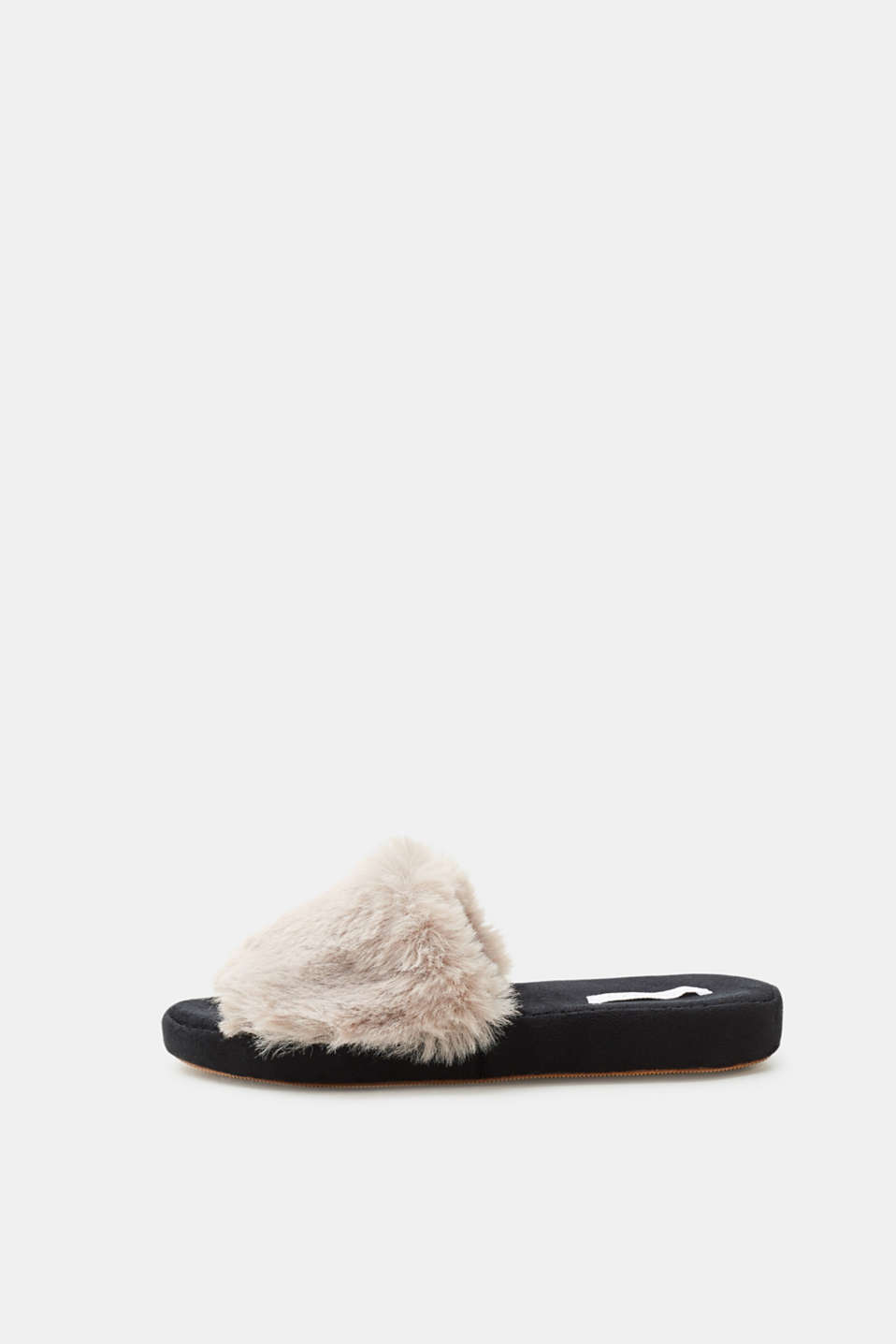 Esprit - Slides with fake fur