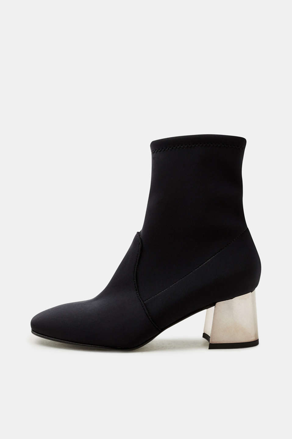 Esprit - Stretch ankle boots with a block heel