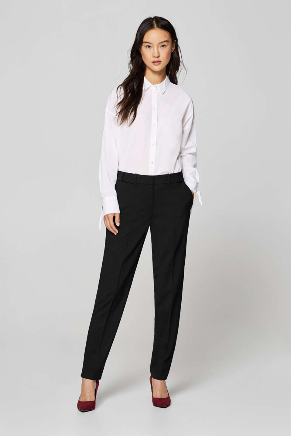 Esprit - PURE BUSINESS Mix + Match Stretch-Hose