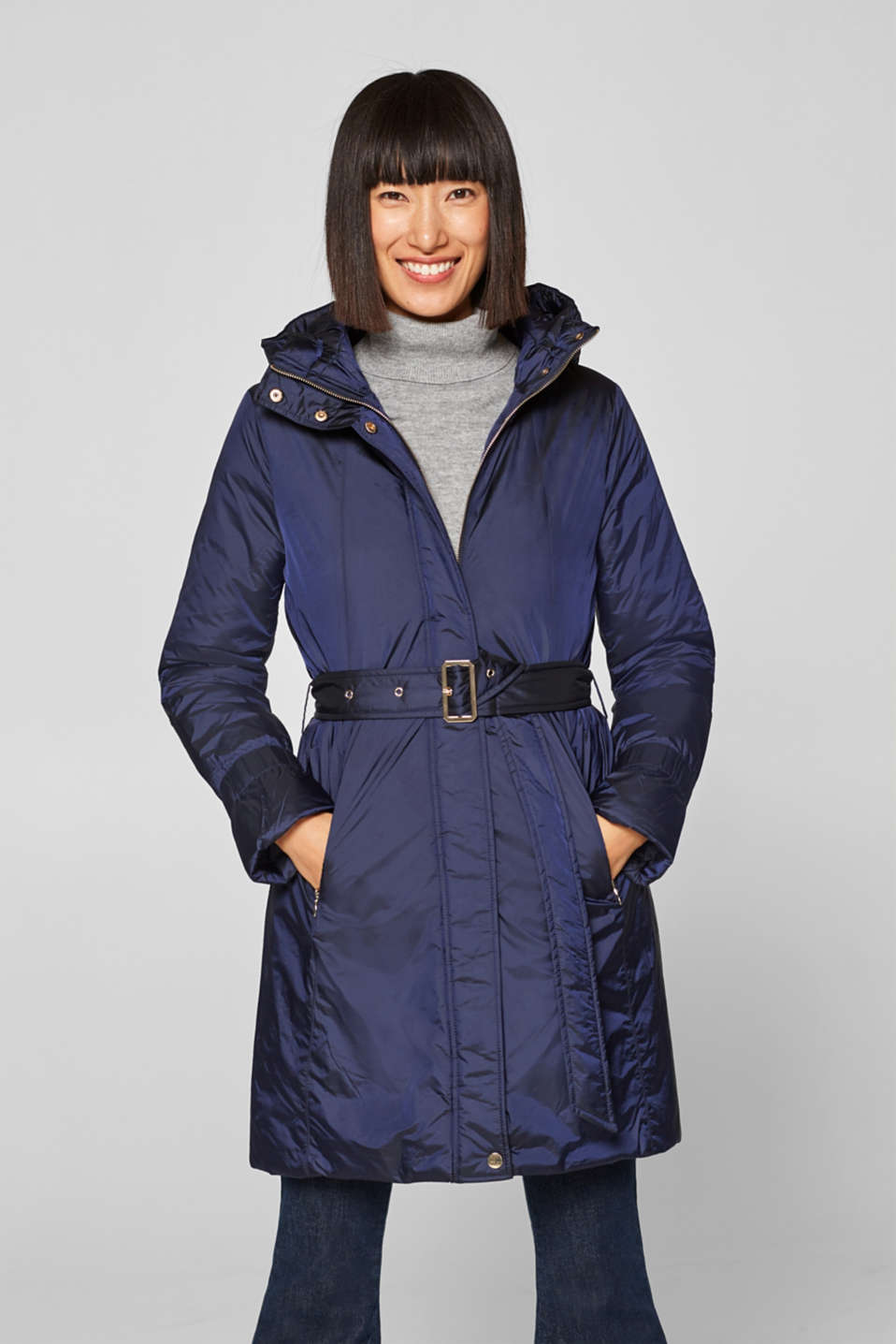 Esprit - Padded jacket with a hood