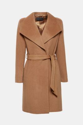 6792929002152 Esprit   En mélange de laine et de cachemire   le manteau à col ...