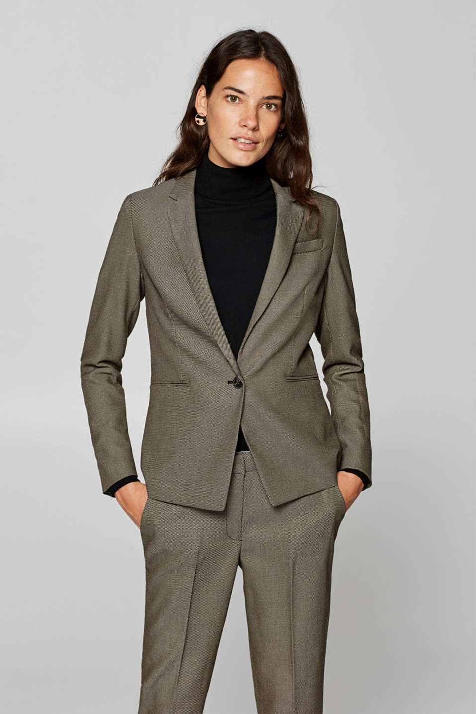 Esprit - ACTIVE SUIT Mix + Match blazer