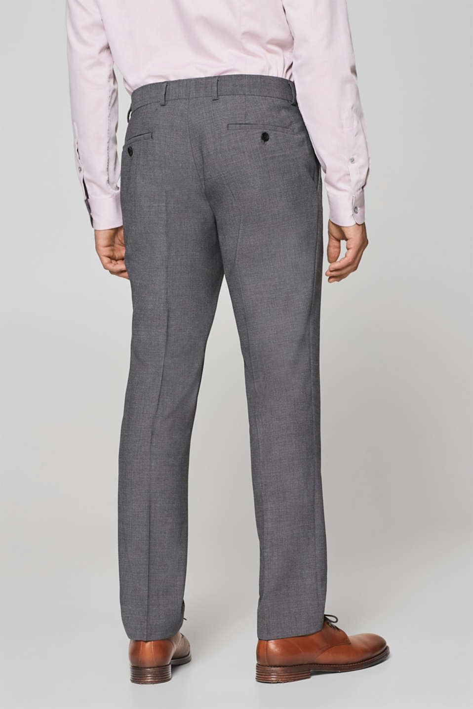 ACTIVE SUIT mix + match: Textured trousers