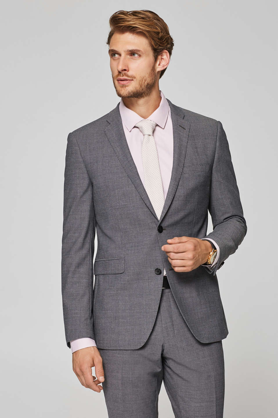 Esprit - ACTIVE SUIT mix + match: Blazer med struktur